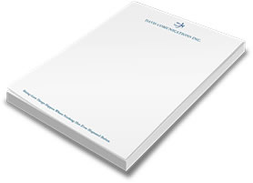 50 page note pad